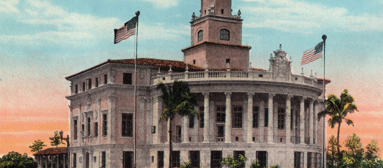City Hall, Coral Gables, the City Beautiful