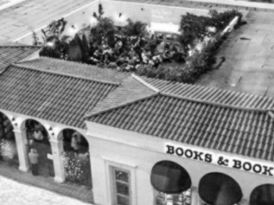books & books aerial view